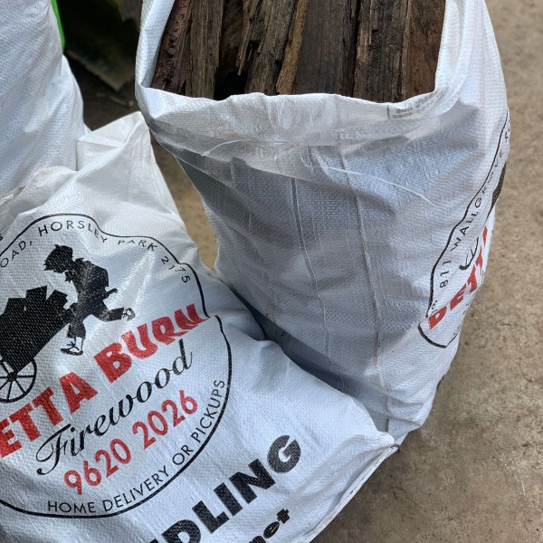 Kindling Ironbark – 10kg bag